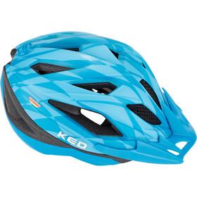 KED Street Jr. Pro Kask rowerowy Dzieci, blue